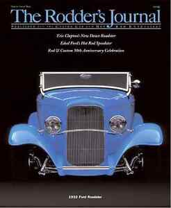 No. 23 Newsstand Cover B 1932 Ford Roadster RODDERS JOURNAL