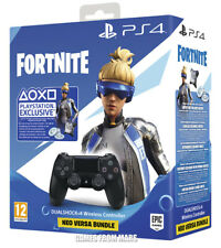 Sony Dualshock 4 PlayStation 4 Controller - Nero (Fortnite VCH Bundle)