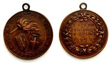 Medaglia Scuole Elementari Di Treviso – Premiazione Nominativa Anno 1929-30 Bron