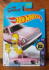 Hot Wheels 2017 HW SCREEN TIME 9/10 The Simpsons Family Car (US Card) (A+/A)