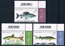 3169-3171 ** BRD 2015, Jugend.Süßwasserfische  ERO