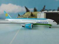 herpa wings 1:500 530040  Uzbekistan Airways Boeing 787-8 Dremliner *