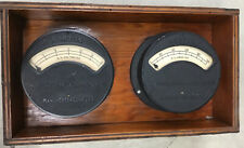 Vintage Norton Electrical Instruments Huge Amp  Steam Punk Office Decoration USA
