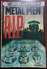 METAL MEN #37  To Walk Among Men  1969  G