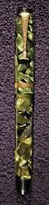 ANTIQUE PARKER CHALLENGER FOUNTAIN PEN GREEN AND BLACK MARBLEIZED COLOR ORIG NIB