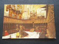TOLEDO CATHEDRAL THE CHOIR POSTCARD