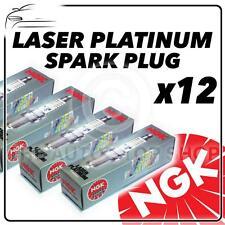 12x NGK SPARK PLUGS Part Number ZMR7AP Stock No. 6914 New Platinum SPARKPLUGS