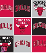 NBA Chicago Bulls Block Fleece Fabric