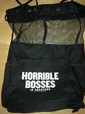 Horrible Bosses Movie Promotional Black Fishnet Lightweight Rucksack Backpack
