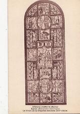 BF16233 orbais l abbaye marne eglise le vitrail de la ch france front/back image