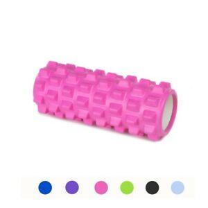 Roller Yoga Foam Rullo in EVA 33cm vari colori per il Benessere Fitness