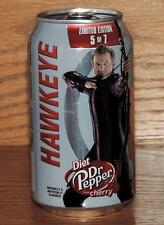 2015 USA DIET DR PEPPER CHERRY MARVEL AVENGERS AGE ULTRON HAWKEYE 12oz FULL CAN