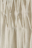 """Anthropologie Shimmering Origami Curtain ONE PANEL, 50"""" x 63"""" Gathered Pleated"""