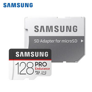 Samsung Endurance Pro 128GB MicroSDXC UHS-I Memory Card w/Adapter + Tracking