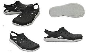 Men's CROCS Swiftwater Wave Water Shoes Sandals Black