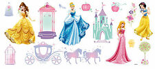 Wandsticker Wandtattoo Wand Deko Prinzessin Cinderella Märchenschloß Disney