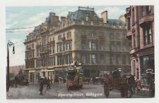Glasgow,Scotland,U.K.Char ing Cross,Trolley Car,Tuck,c.1909