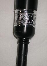 McCallum PC5 Plastic Long Practice Chanter Zoomorphic Engraved Im Ivory Sole