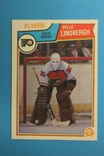 1983-84 O Pee Chee OPC Pelle Lindbergh Rookie Card #268 - Mint