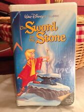 Walt Disney Black Diamond Classic The Sword in the Stone New & Sealed VHS Rare!!