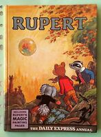 RUPERT - THE DAILY EXPRESS ANNUAL 1968 HARD-BACK BOOK. excellent condition RARE!