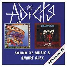 The Adicts Sound Of Music/Smart Alex 2on1 CD NEW SEALED Punk Chinese Takeaway+