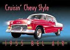 CHEVROLET Bel Air 1955 Cruisin Chevy Style Metall Zeichen De