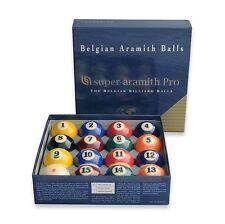 Aramith Super Pro Pool Ball Set Belgian Balls Set Billiards w/ FREE Shipping