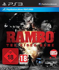 SONY PS3 Rambo - The Video Game PlayStation 3 MOVE Spiel OVP gebraucht guter Z.