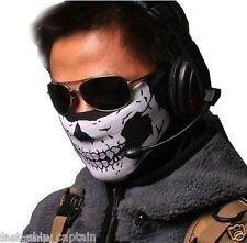 Special Forces Skeleton Death Mask  Skull OPS USMC Fighter Pilot Helmet warmer