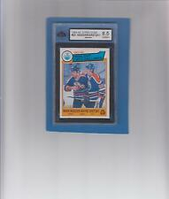 1983-84 O-Pee-Chee #23 Mark Messier / Wayne Gretzky graded 8.5 NMM+ by KSA