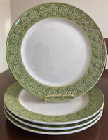 Celtic Classics Stoneware - Set of 4 Dinner Plates - St. Patrick's Day - Knots
