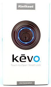 Kwikset 925 Kevo Touch to Open Bluetooth Smart Lock (2nd Gen) Venetian Bronze