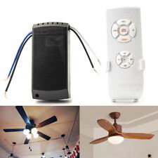 Universal Ceiling Fan Lamp Light Kit Wireless Timing Remote Control Receiver