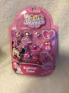 Squinkies Set -Series 5 Disney Fairies - 9 squinkies & Tiny toys new baking time