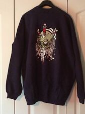 Zorlac Pirate 2 Vintage Pushead Art Skateboard Sweat Shirt Xl Vtg