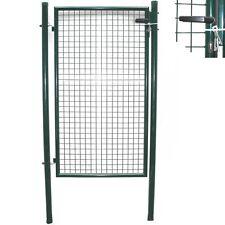Gartenpforte grün GARTENTOR 100x160 cm ZAUNTOR PFORTE incl. SCHLOSS Tor Tür