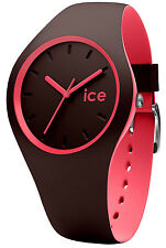 ICE-WATCH Damenuhr Ice Duo Winter Chocolat Coral M 012972