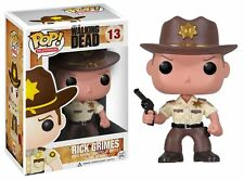 Walking Dead POP Rick Grimes Vinyl Figure NEW Funko Toys Zombies TV Funko