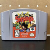 Pokemon Snap Nintendo 64 N64 CARTRIDGE ONLY- GOOD SHAPE- TESTED & AUTHENTIC