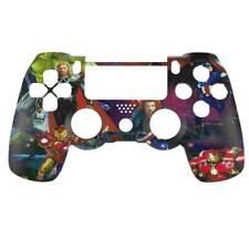 "Custom PS4 V2 Controller ""Marvel Heroes"" Front Shell (Matte Finish)"