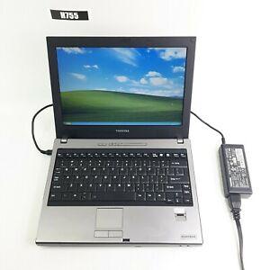 "TOSHIBA PORTEGE M500 12.1"" LAPTOP CORE DUO T2400 3GB 160GB WIN XP PRO H755"