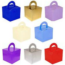 5-10 Helium Balloon Cake Box Weight Wedding Favours Boxes Birthday Party