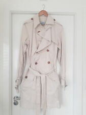 Vivienne Westwood Cotton Mens Trench Coat Beige - size 48 - similar to Burberry