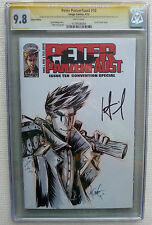 PETER PANZERFAUST #10 BLANK SKETCH VARIANT DBL SIGNED WIEBE 9.8 CGC GOLD LABEL