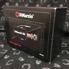 DiMarzio The Angel PZ underdsaddle transducer Shadow Nanoflex guitar acoustic