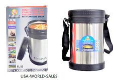 Cookinex Vacuum Stainless Steel Food Jug Flask Jar Wide Mouth Thermos 33.8 Fl Oz