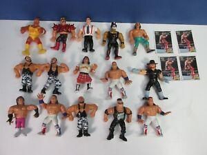 15 VINTAGE wrestling WWF WWE TITAN SPORTS ACTION FIGURE job lot bundle set 1991