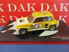 Die cast 1/43 Modellino Auto Renault 5 Turbo Rally Race 1983 G. Ortiz
