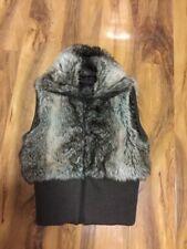 Miss Selffridge Ladies Faux Fur Gillet/Body Warmer Size 8